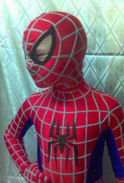 Костюм человека-паука своими руками